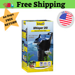 20 Gallon Tetra WHISPER Internal Filter For aquariums Fish Turtle Air Pump Tank