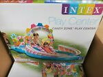 BRAND NEW Intex Candy Zone Kids Inflatable Swimming Pool Play Center Slide