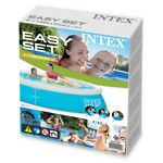 INTEX 6 ft X 20 in Easy Set Above Ground Swimming Pool *BRAND NEW FAST SHIP*