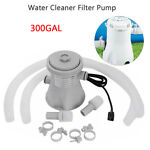 Electric Swimming Pool Filter Pump For Above Ground Pools Cleaning Tool New