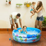 Portable Swimming Pool Outdoor Garden Summer Inflatable Kid Childs Paddling Pool