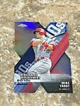2020 Topps Chrome Wins Above Replacement Die Cut Mike Trout DOD 1 LA Angels