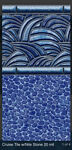 SALE Inground swimming pool liners are custom made for Rectangle Grecian Ovals