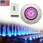 252 LED 18W Underwater Swimming Pool Light Fountain Spa Lamp RGB ColorsRemote