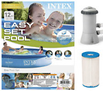 🔥 Brand New Intex Above Ground Swimming Pool Easy Set 12ft X 30in. Filter Pump
