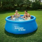 Summer Waves 8 FT x 30 IN Quick Set Pool - BRAND NEW & SEALED  (no filterpump)