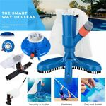 Swimming Pool Pond Suction Vacuum Cleaner Head Spa Tub Cleaning Brush Clean Tool