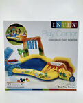 INTEX Dinosaur Inflatable Play Center Swimming Pool Water Slide Kids 8ft X 6ft