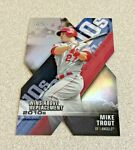 2020 Topps Chrome Wins Above Replacement #DOD 1 Mike Trout Angels