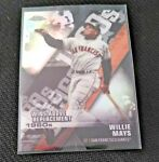 2020 Topps Chrome Die Cut Wins Above Replacement Willie Mays #DOD 7