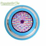 54W PopularGrow IP68 RGB LED Swimming Pool Underwater Lights Remote CE RoHs Lamp