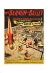 barnum and bailey GRAND WATER CIRCUS greatest show on earth SWIMMING 24X36
