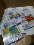 Set of 3 Inflatable Pool Arm Bands Mermaid Dinosaur Swimming Safety Training