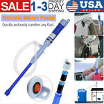 Water Pump Liquid Transfer Gas Oil Siphon Battery Operated Electric Pumps HOT