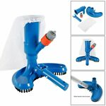 Swimming Pool Vacuum Cleaner Cleaning Tool Suction Head Fountain Vacuum Brush