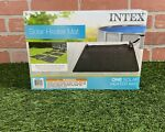 NEW! Intex 28685E Above Ground Swimming Pool Water Heater Solar Mat - Black