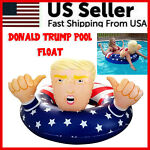 Donald Trump Swimming Floats 47quot; Inflatable Pool Raft Float Beach Party Gag Toy