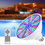 48W 120V RGB LED Color Changing Underwater Swimming Inground Pool Light Bulb NEW