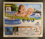NEW Intex 8#x27;x24quot; Easy Set Inflatable Above Ground Pool w Filter Pump*FREE SHIP*