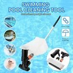 Portable Swimming Pool amp; Spa Pond Fountain Tub Vacuum Cleaner Brush Cleaning Kit
