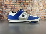 DC Shoes Co Mens SIZE 11 Vintage Blue White Suede Used
