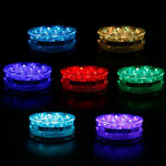 LED Bulb Underwater Light Fountain Swimming Pool Lamp Remote Control  RGB