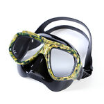 Dive Mask Swimming Underwater Diving Goggles For Glass Anti Fog Green