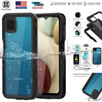 For Samsung Galaxy A12 Waterproof Shockproof Swimming Underwater Full Case Cover