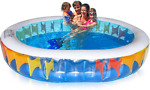 Inflatable Pool Swimming for Adults amp; Kids Big Kiddie 100quot; x 80quot; x 20quot;