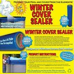 ABOVE GROUND POOL WINTER COVER SEAL SEALER WRAP 500FT ROLL HVWCS 12
