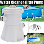 330 GPH Above Ground Swimming Pool Cartridge Filter Pump System For 100-350GAL