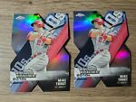 2020 Topps Chrome Mike Trout Die Cut X2 Wins Above Replacement Angels