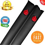 Water Double Chamber Tube Bags In Ground Swimming Winter Pool Covers Black 8ft
