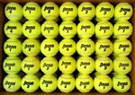 100 used tennis balls FREE SHIP amp; FREE RECYCLING support RecycleBalls nonprofit