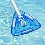 Swimming Pool Vacuum Brush Head Transparent Weighted Suction Cleaning Brush Tool
