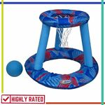 INFLATABLE BASKETBALL Set Hydro Spring Hoops Swimming Pool Toys for Kids By COOP