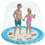 a small swimming pool for kids set in the back yardInflatable Water Toys