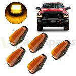 5X yellow 12 LED cab marker light for Ford f 150 F 250 F350 1980 1997
