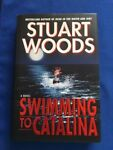 SWIMMING TO CATALINA 1ST. ED. AUTHOR#x27;S OWN LTD. INSCRIBED TO MRS. EDGAR BERGEN