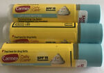 3 Carmex Cupcake 🧁 Batter Moisturizing Lip Balm SPF 15 And SEALED A Must Try