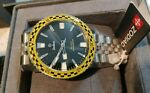 RARE Limited Edition of 82 Pieces Zodiac Super Sea Wolf quot;Rallyquot; Watch ZO9272