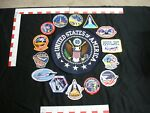 Space Shuttle mission patches 15 and 1 large US seal patch.. embroidered Patch