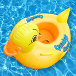 Inflatable Pool For Children Baby Swimming Ring Duck Sitting Circle Inflatable