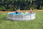 Intex 10ft X 30in Prism Frame Pool Set with Filter  10' x 30