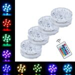 Floating Underwater Swimming Pool Light RGB LED Bulb Remote Control Color Lights