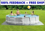 Intex 15ft x 42in Prism Frame Swimming Pool w Pump + Ladder + Cover FAST SHIP