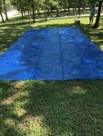 Midwest Canvas Solar Swimming Heavy Pool Blanket Blue 14 ft. x 28 ft.