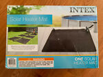 Intex 28685E Above Ground Swimming Pool Water Heater Solar Mat - Black FREE SHIP