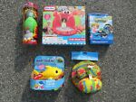 5 Children#x27;s Fun Pool Items Little Tykes Crab Shade Pool amp; Baby Shark amp; More