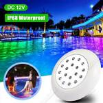 10W 12V RGB LED Color Changing Underwater Swimming Inground Pool Light Bulb NEW